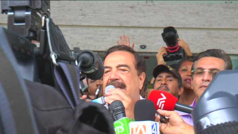 Declaraciones de Jaime Nebot por caso Las Dolores. Foto: Johnatan Bedón/La República