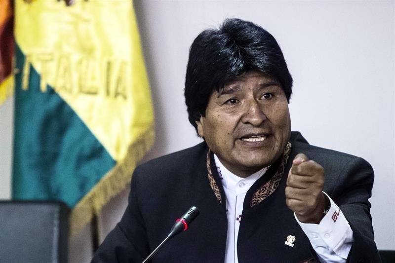 "Detuvieron a un albañil por gritarle a Evo ""Bolivia dijo no"""