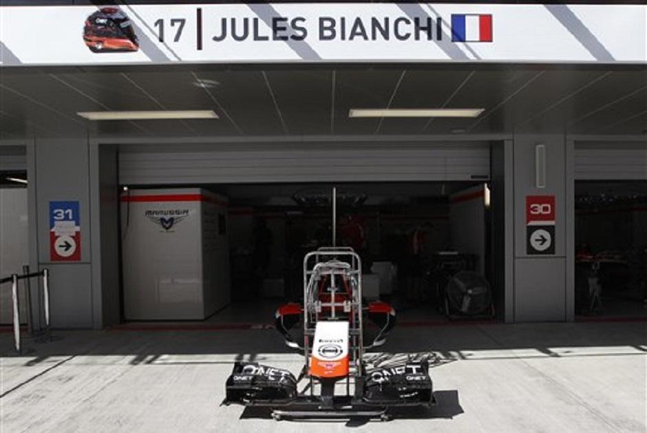 F1  JULES BIANCHI