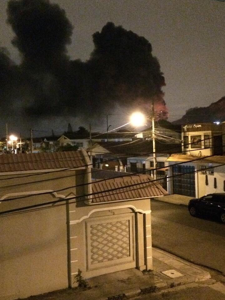 Incendio Juan Eljuri Guayaquil