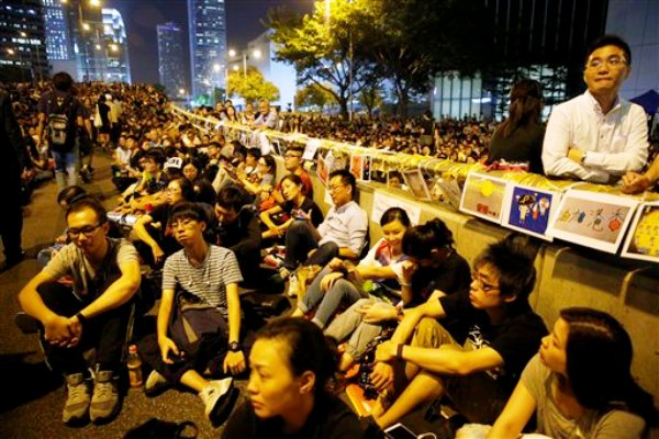 Hong Kong democracia