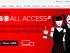Captura de pantalla de la web de CBS donde promocionan CBS All Access