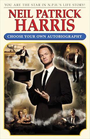 """En esta imagen difundida por Crown Archetype, la portada del libro de Neil Patrick Harris, """"Neil Patrick Harris: Choose Your Own Autobiography"""", a la venta a partir del 14 de octubre del 2014. (AP Foto/Crown Archetype)"""