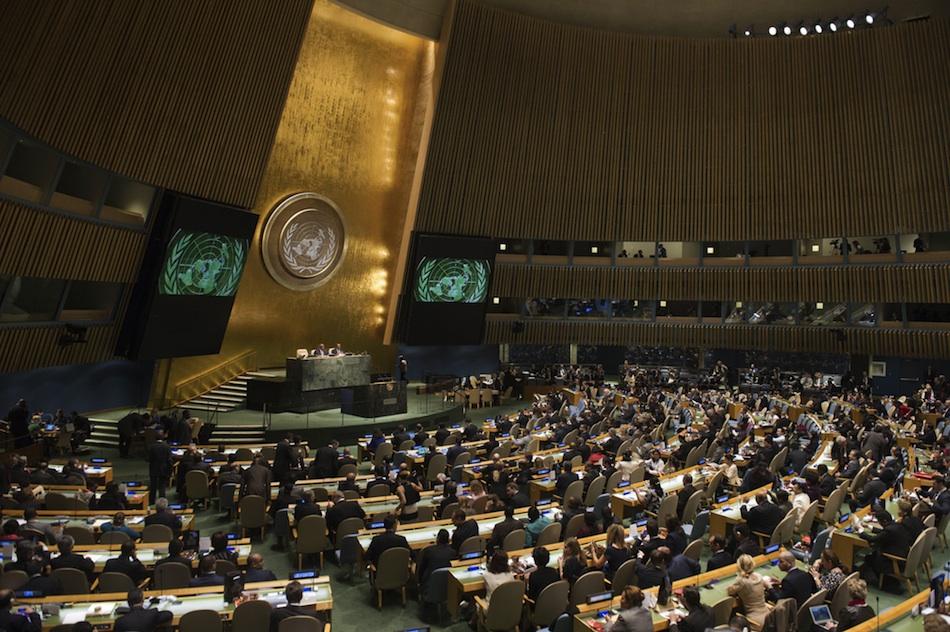 SEGUNDA VOTACIÓN PARA QUE ESPAÑA PUEDA ENTRAR AL CONSEJO DE SEGURIDAD DE ONU