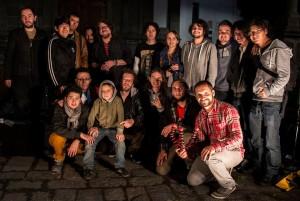 Integrantes del proyecto Sesiones Al Parque. Foto cortesía de Emilio Montenegro.