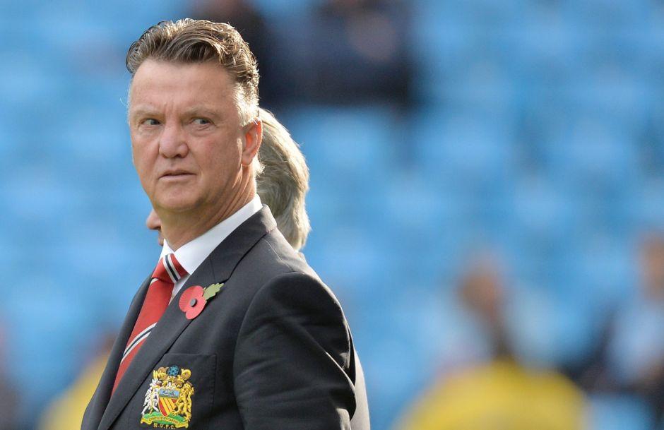 Louis Van Gaal. Manchester United.