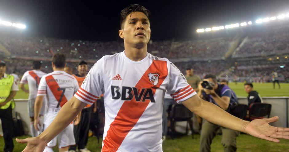 Teo Gutiérrez. River Plate.