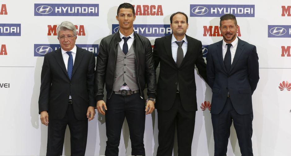 Cristiano Ronaldo. Premios Marca.