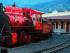 Ferrocarriles Ecuador. Foto de la Agencia Andes.