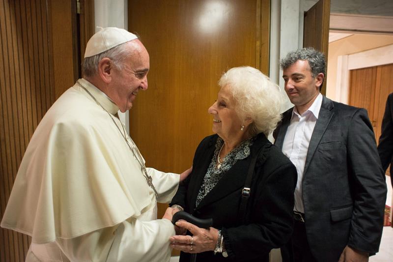 Carlotto y el Papa