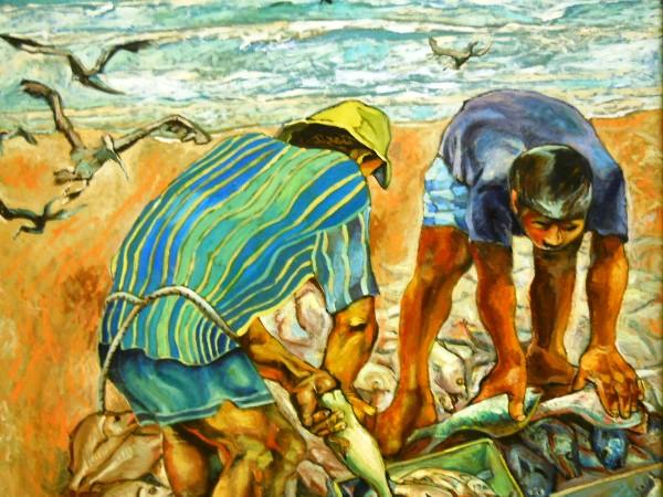 Luis Miranda pescadores