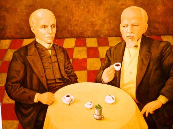 Jorge Velarde, café para dos