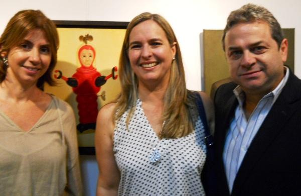 Monina Tanca, Patricia Talbot y Jaime del Hierro