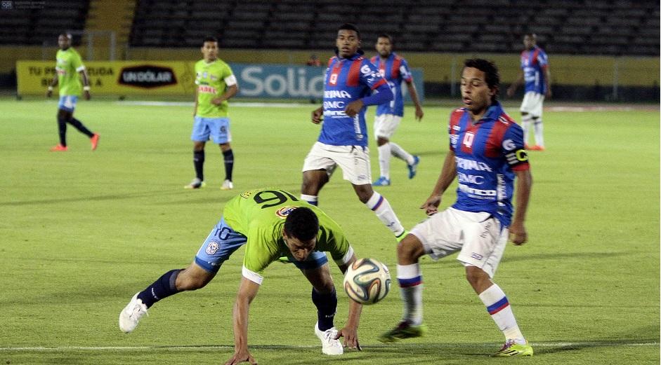 Quito vs Manta.
