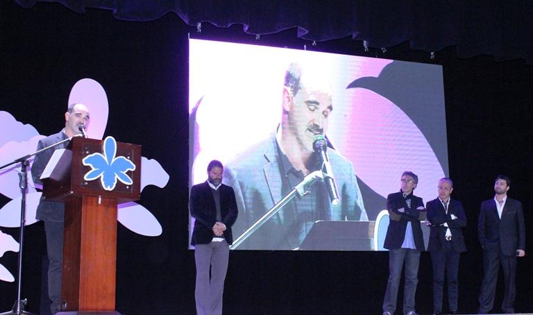 """Ramiro Ruiz, productor de """"Güeros"""" y los miembros del Jurado"""