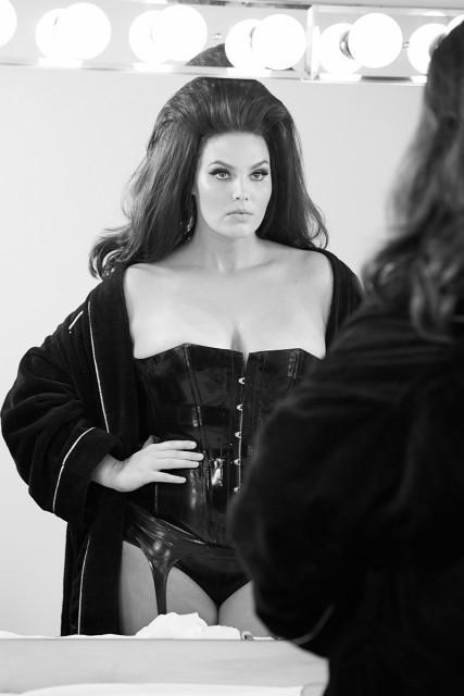 Candice Huffine. Foto: Steven Meisel