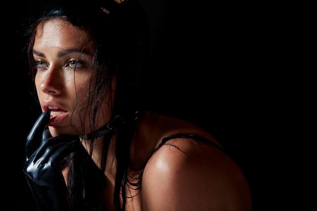 Adriana Lima. Foto: Steven Meisel