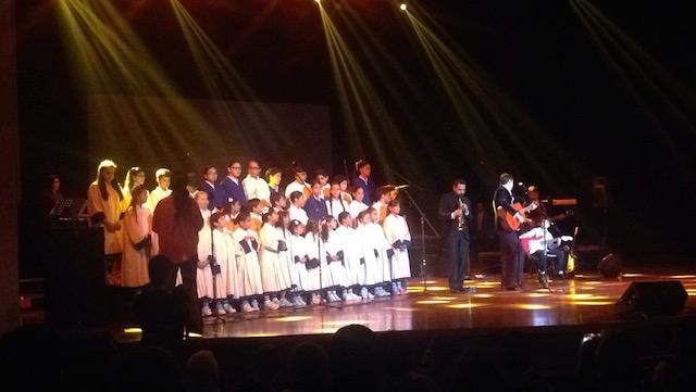 Los coristas del colegio Balandra. Foto: Gabriela Icaza/LaRepública