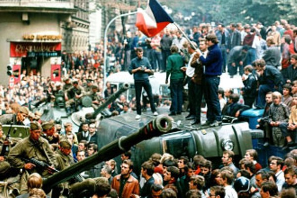 Praga, 17 de noviembre de 1989. AP