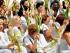 Las damas de blanco en una protesta pacífica. Foto de Archivo, La República.