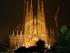 La Basílica de la Sagrada Familia en Barcelona, la obra suprema de Antoni Gaudí.