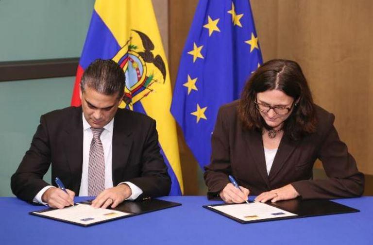 Firma Acuerdo Ecuador Unión Europea