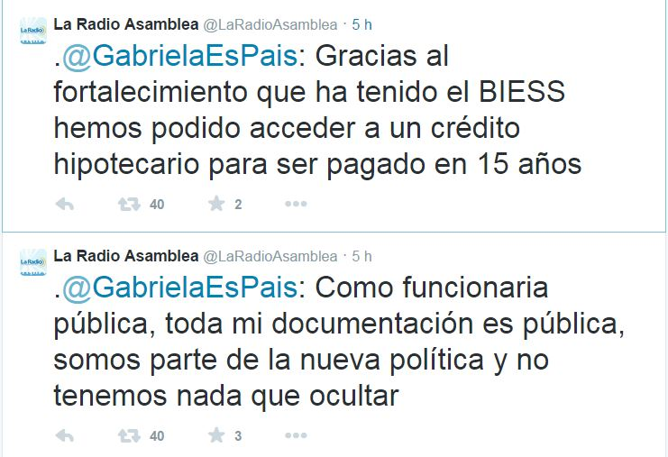 Tuit Gabriela