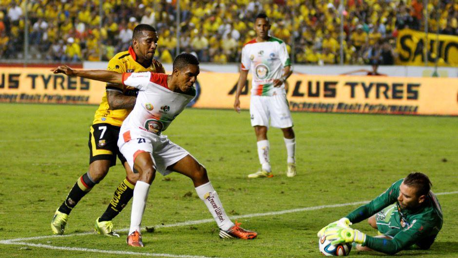 Guayaquil 10 de Diciembre del 2014. Barcelona vs Mushuc Runa. Fotos: Marcos Pin / API.