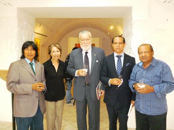 Olmedo Quimbita, Marina Paolinelli, Francisco Huerta, Carlos Bustamante, y Toni Moré.