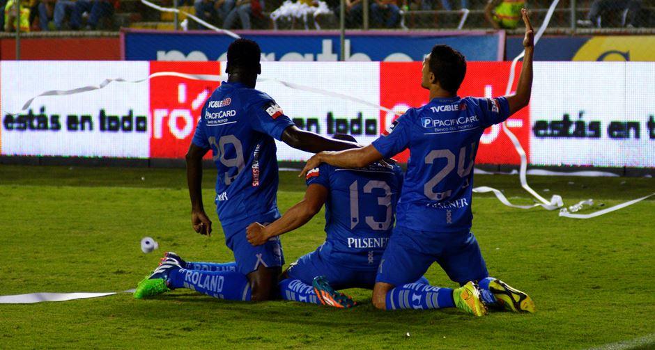 Guayaquil 17 de Diciembre del 2014. Final del Campeonato, entre Barcelona y Emelec. Fotos: Marcos Pin / API
