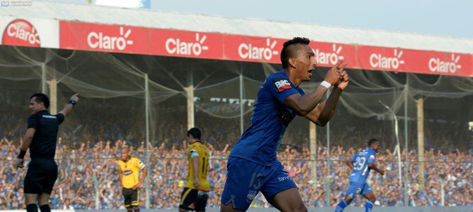 Guayaquil 19 de Diciembre del 2014. Final del Campeonato Ecuatoriano de Futbol 2014. Emelec vs Barcelona. Fotos: Marcos Pin / API