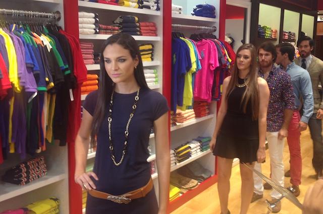 Modelos mostrando la nueva colección de Polo. Foto: Gabriela Icaza/LaRepública