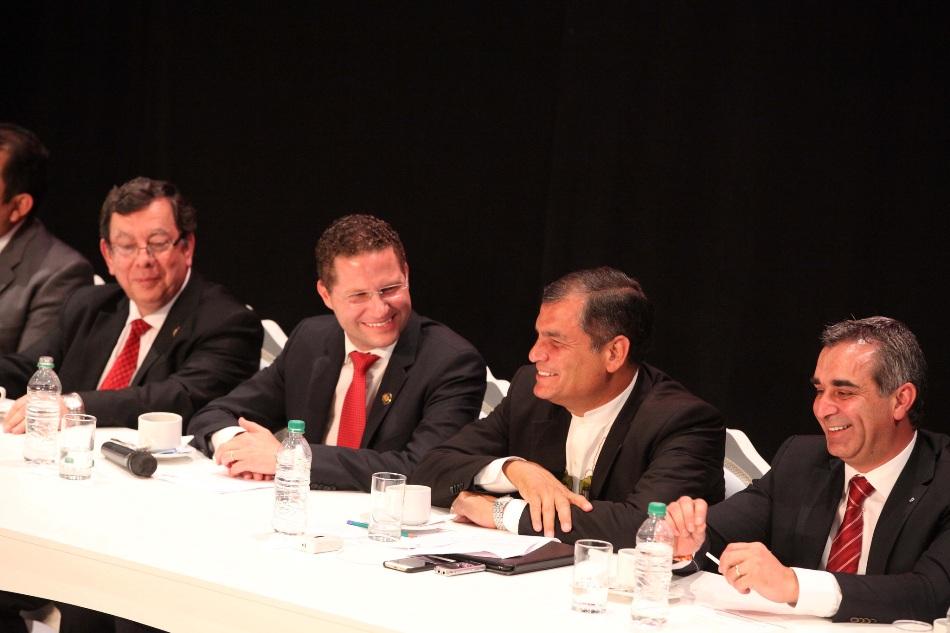 Quito 06 de Diciembre 2014.- El Presidente Rafael Correa participó en la Sesión Solemne por los 480 años de Fundación de Quito. Foto: Eduardo Santillán. Presidencia de la República.