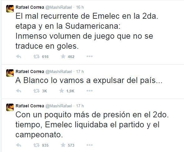 tuits Correa Blanco
