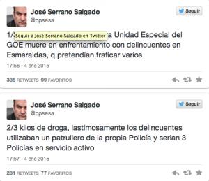 Serrano balacera