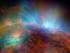 Espacios negros en el sol. Foto de la NASA.