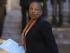 PARIS (FRANCIA) 08/01/2015.- La ministra de Justicia gala, Christiane Taubira, a su llegada a una reunión de crisis con los miembros del Gobierno directamente implicados en la gestión del atentado mortal de ayer contra Charlie Hebdo, en el Palacio del Elíseo en París (Francia) hoy, jueves 8 de enero de 2015. EFE/Ian Langsdon