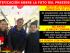 Rectificación fotográfica del portal de Facebook 'Crudo Ecuador' en relación a críticas del presidente Correa durante su sabatina.
