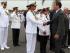 El presidente Correa habló del 30S en la ceremonia de cambio de Comandante de la Marina, acto ocurrido en Guayaquil el 20 de enero de 2015.