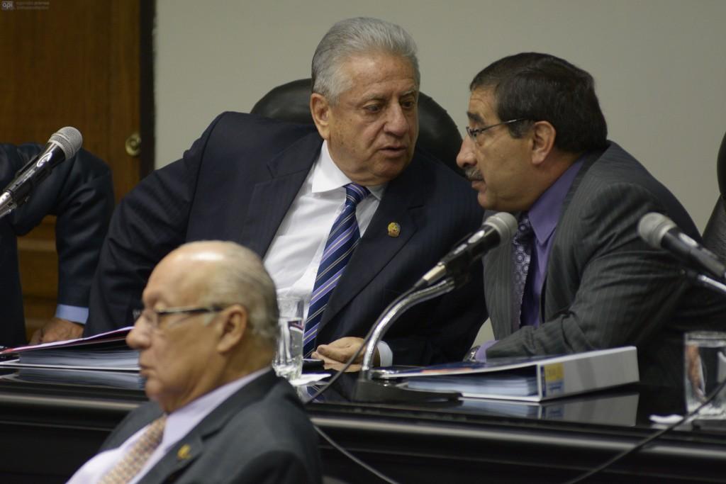 Guayaquil 20 de Enero 2015. Hoy se instaló el congreso ordinario de la Federación Ecuatoriana de Fútbol, dónde se elegirá a su presidente. Fotos: Marcos Pin / API