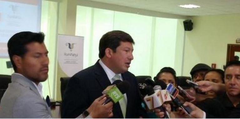 Ministro César Navas