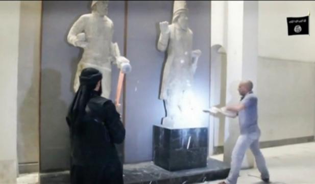 Ataque EI museo Mosul