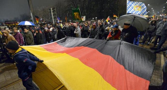 protesta islamófoba