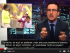 Foto de pantalla del youtube del programa 'Last week tonight with John Oliver'.