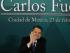 CIUDAD DE MÉXICO (MÉXICO), 23/02/2015.- El escritor nicaragüense Sergio Ramírez saluda hoy, lunes 23 de febrero de 2015, antes de recibir el Premio Internacional Carlos Fuentes en el Museo de Antropología de Ciudad de México. EFE/Jorge Núñez