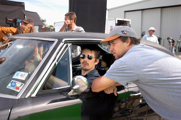 Richard Linklater y Ethan Hawke. Foto: nytimes.com