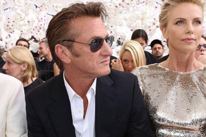 Sean Penn y Charllize Theron