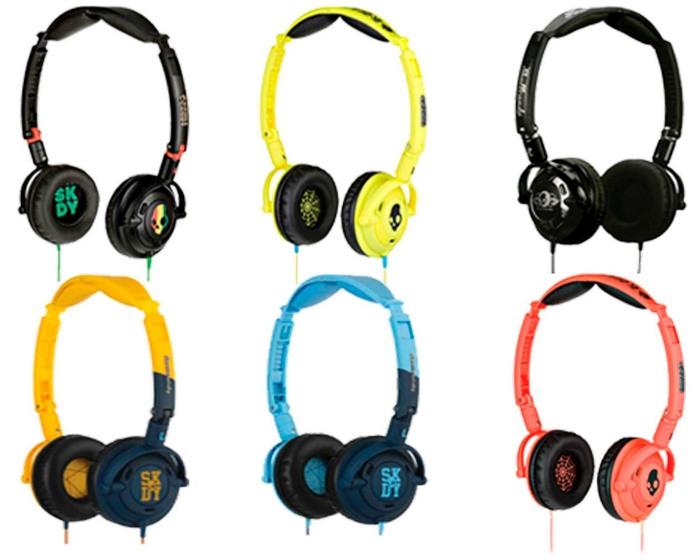 audifonos de colores