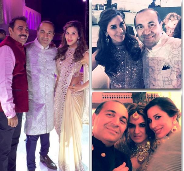 Fotos de la boda, publicadas en Instagram por  una de las invitadas.