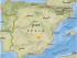 Captura del sitio USGS, que muestra el sitio del sismo en España el 23 de febrero de 2015.